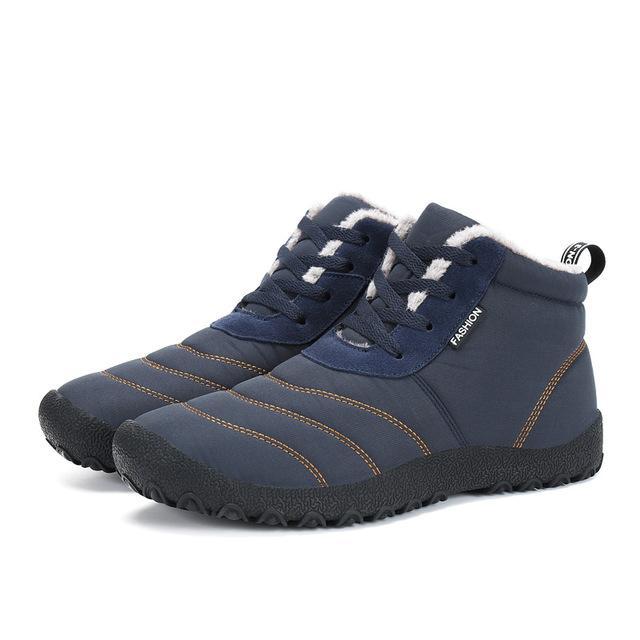 SAGUARO Súper Hombres Calientes Botas de Invierno para Hombres Botas de Lluvia Impermeables Calientes Zapatos 2018 Botines de Nieve de Tobillo para hombres Nuevos Botas Masculina Bota
