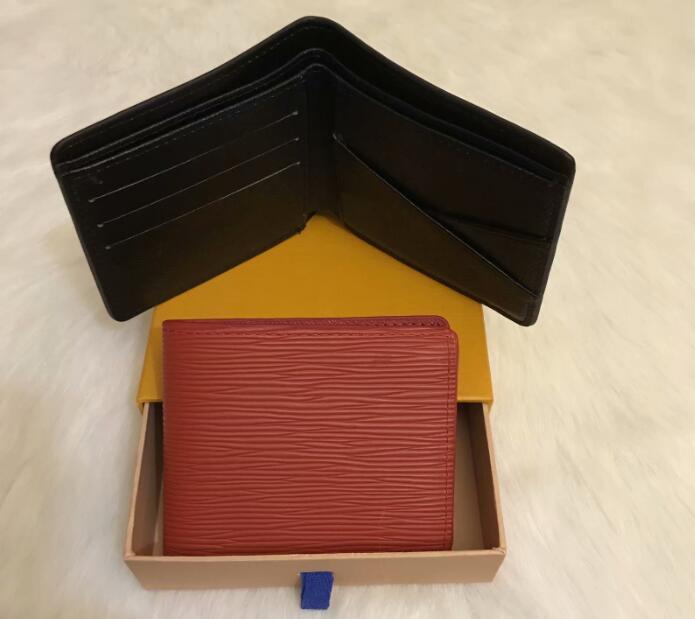 New Designer Tote Portafoglio Pelle in pelle di alta qualità Portafogli cortili per le donne Uomo Borsa per pilletto con scatola 02