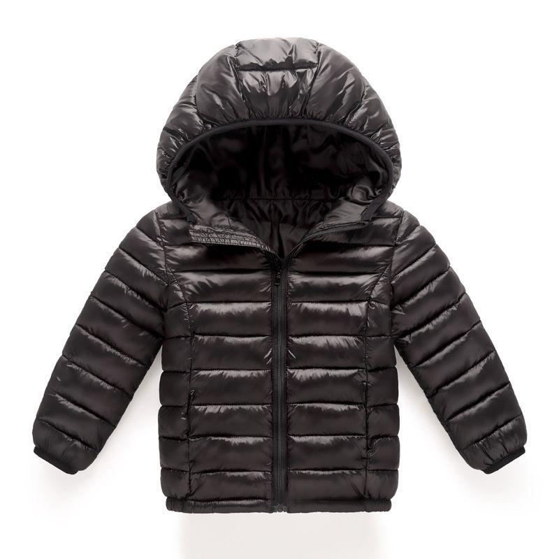 neue Frühlings-Kinder Mantel Herbst Kinder Jacke Junge Oberbekleidung Mäntel Baby-Kleidung Mädchen Baumwolle Kleidung Leicht nach unten enfant