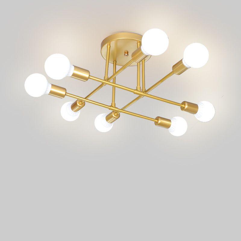 Moderne LED Plafonnier Salon Chambre salon Creative Accueil Luminaires Plafonnier Lampe AC110V-240V Livraison Gratuite