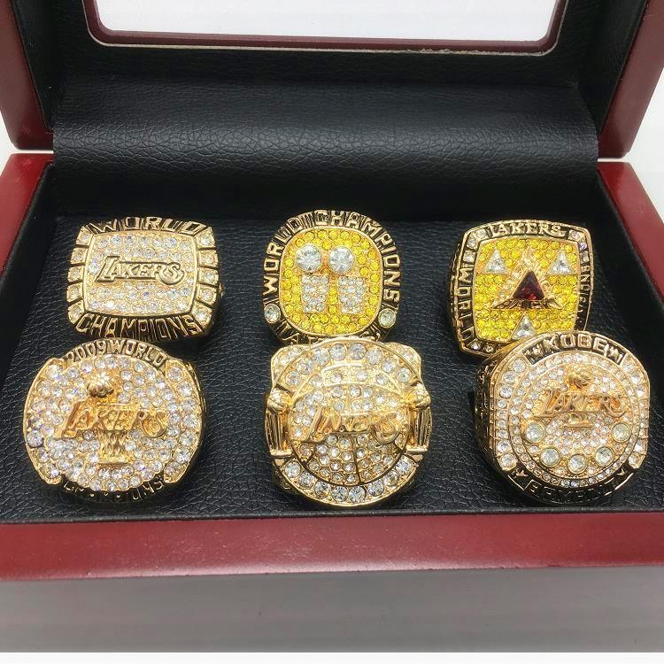Lembrança anel de basquete de jóias por atacado de moda CZ cristal Zircon 14K anel de ouro para homens jóias, 1pz