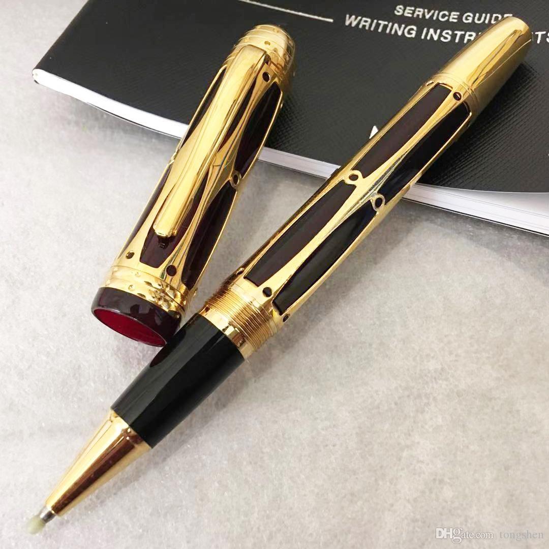Roma'nın rollerball kalem Lüks okul ofis kırtasiye pürüzsüz yazma dışarı MBC Hollow Sınırlı sayıda ünlü kalem