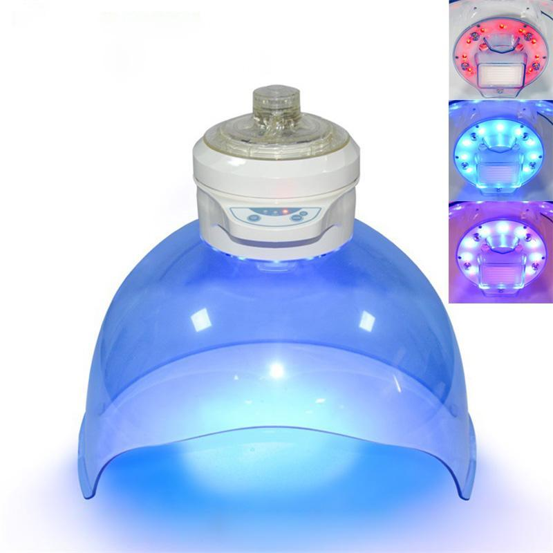 LED Lumière Photon masque facial oxygène Jet Peel Machine à Vapeur facial hydrogène eau machine Rajeunissement de la peau Visage Hydrater