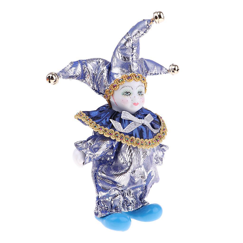 16cm Bastante italiana Porcelana Triangel muñeca En Traje Home Decor Display # 6