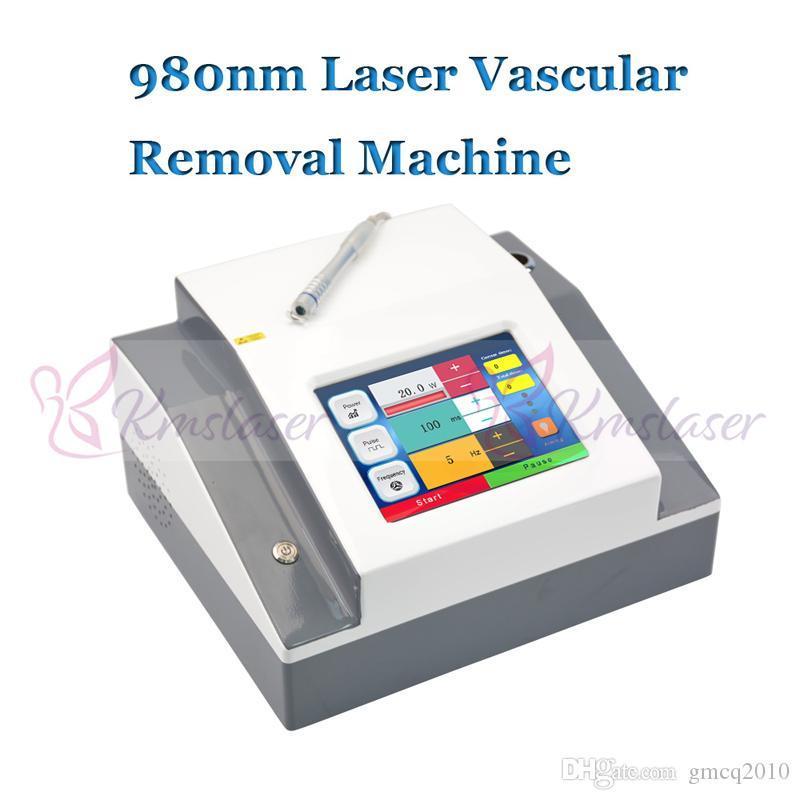 Laser diodo 980nm Spider Vein Removal Removal Veins Rimuovere la macchina 980 Nm Vascular Lazer Equipaggiamento di bellezza