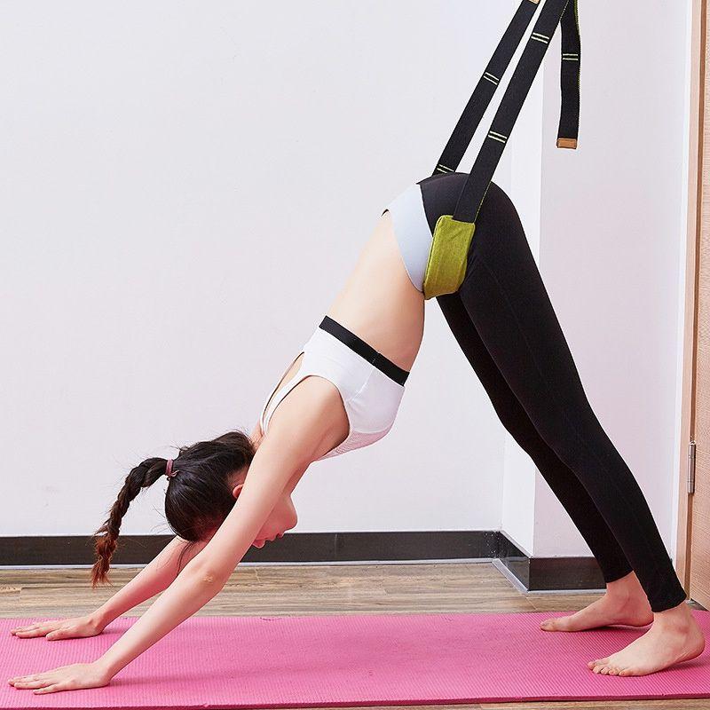 Bale Cheer Dans Jimnastik Eğitmeni Yoga Stretch Kemer Yoga Aracı Bacak Sedye Band Esneme Sıcak Satış-Yeni Esneklik