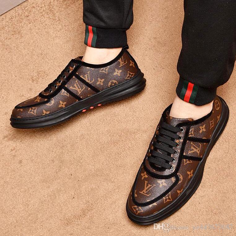 2019 novos sapatos casuais de couro de alta qualidade dos homens, 39-44 sapatos de couro dos homens, sapatos de condução macio e confortável dos homens calçados esportivos qt