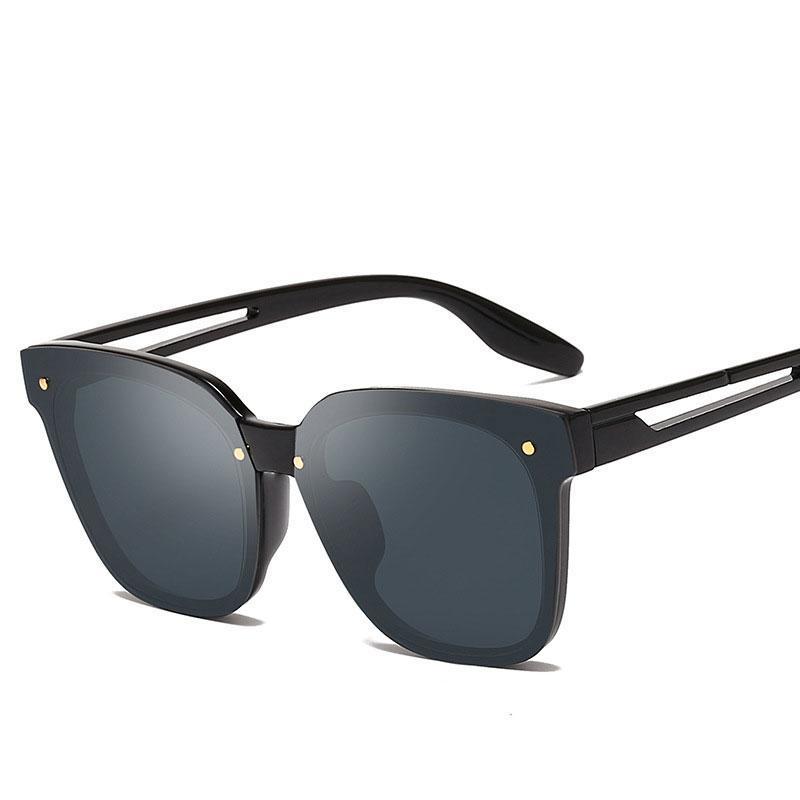 El_Ciero 2019 sin montura gafas de sol de moda para hombres y mujeres a la cadena las gafas sin montura retro unisex Eyewear