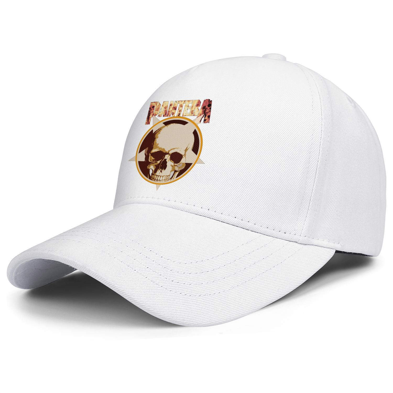 Pantera Cowboys From Hell White For Men And Women Trucker Cap Ball