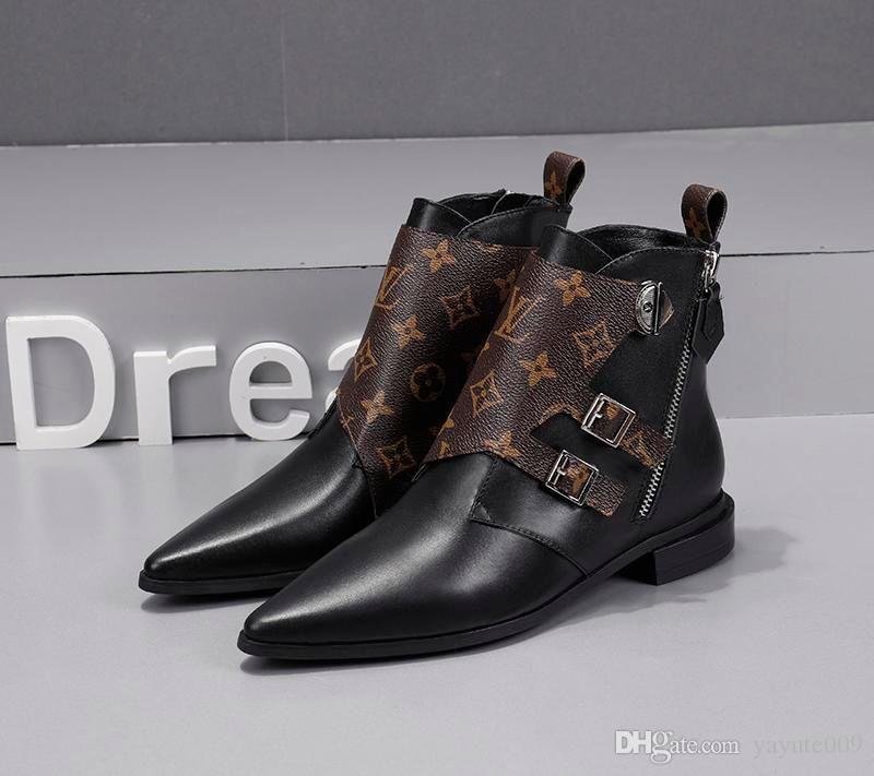 التمهيد A10 تصميم نساء العلامة التجارية الفاخرة أزياء أحذية الثلاثي الأصفر جلد الركبة أحذية النسائية الفخذ العليا جورب أحذية عارضة مع صندوق
