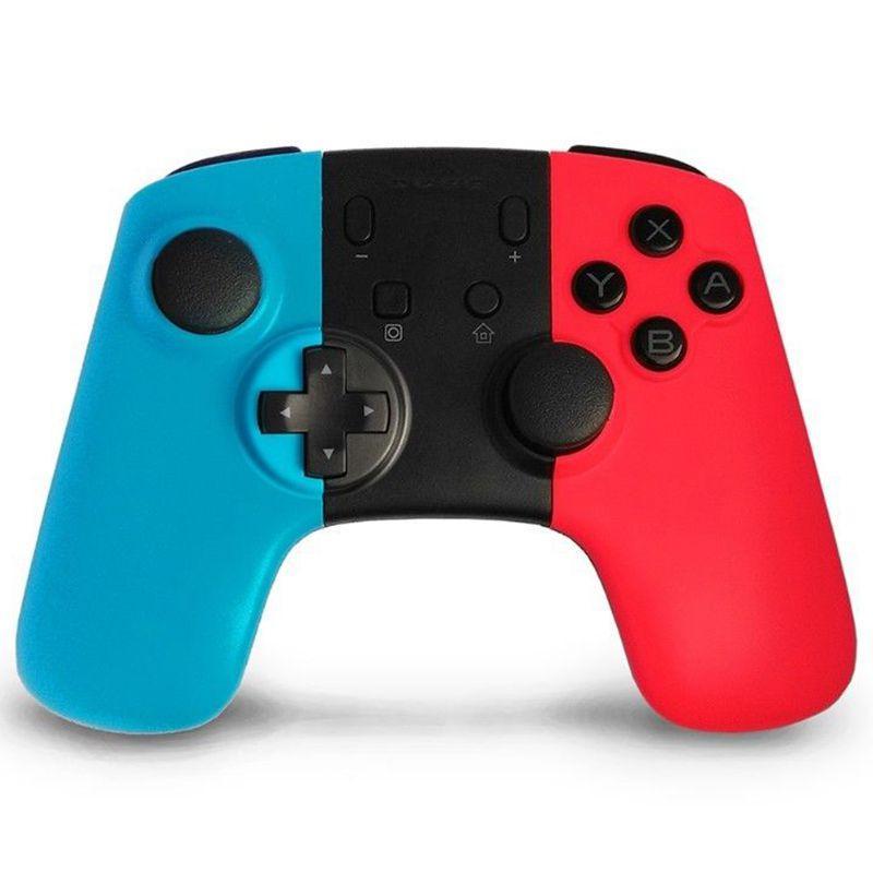 블루투스 무선 게임 컨트롤러 게임 패드 조이스틱 닌텐도는 터보 키가 지원되는 PC와 PRO 콘솔 스위치