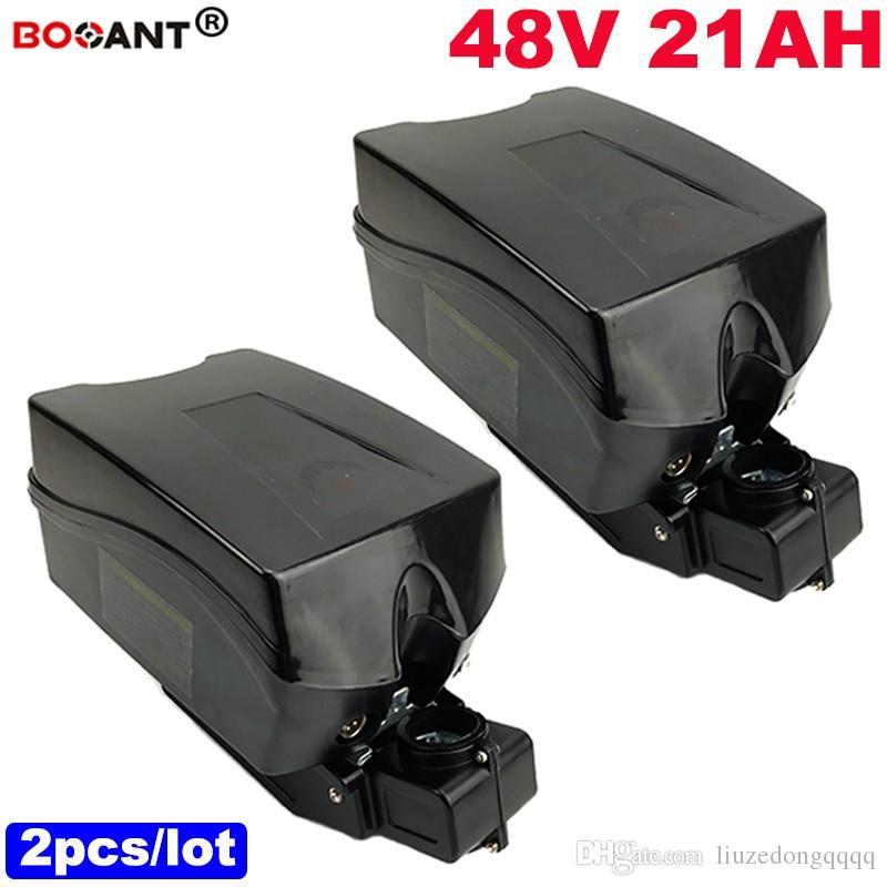2 pz / lotto per Samsung 18650 E-bike batteria 48 V 20ah bicicletta elettrica Batteria al litio per Bafang BBSHD 1000 W Motore Spedizione Gratuita