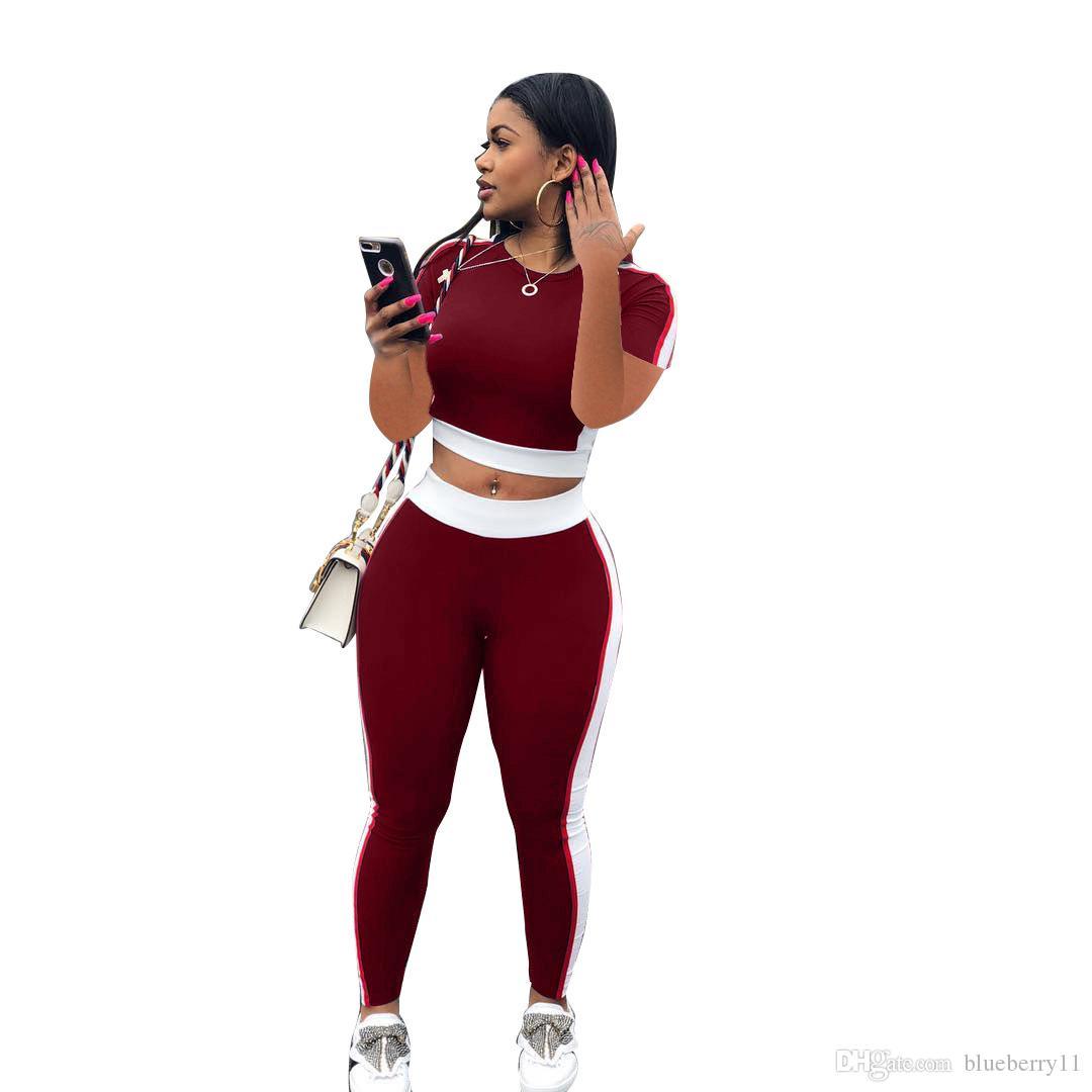 섹시한 여성 2 개 세트 겨울 코트 슬리브 높은 짧은 바지 의상 운동 피트니스 운동 운동 의류 운동복 로파 Mujer