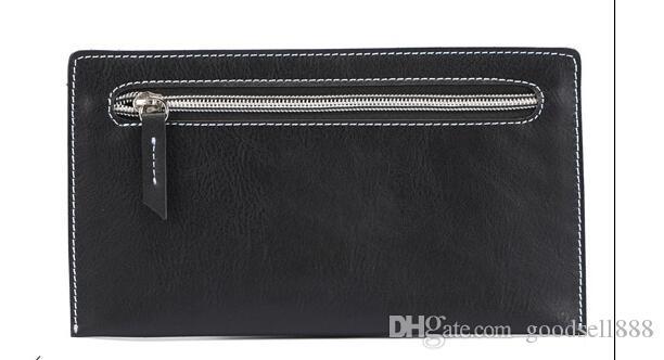 2019 New Bag Envío gratis Billfold Patrón de altas calidad Patrón de Plaid Mujeres Cartera Hombres Pures Lujo de alta gama SSS Designer Wallet con caja