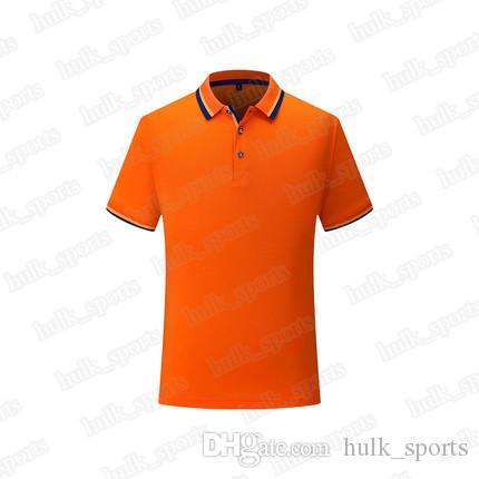 2656 Deportes de polo Ventilación rápida de secado caliente ventas de los hombres superiores de calidad 2019 de manga corta camiseta cómoda nuevo estilo jersey6100