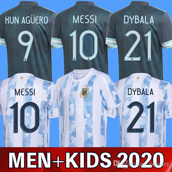 2020 2020 Argentina Soccer Jersey 2021 Copa America Argentina Football Shirt Messi Dybala Aguero Lo Celso Martinez Tagliafico Camiseta De Futbol From Isoccer 13 05 Dhgate Com