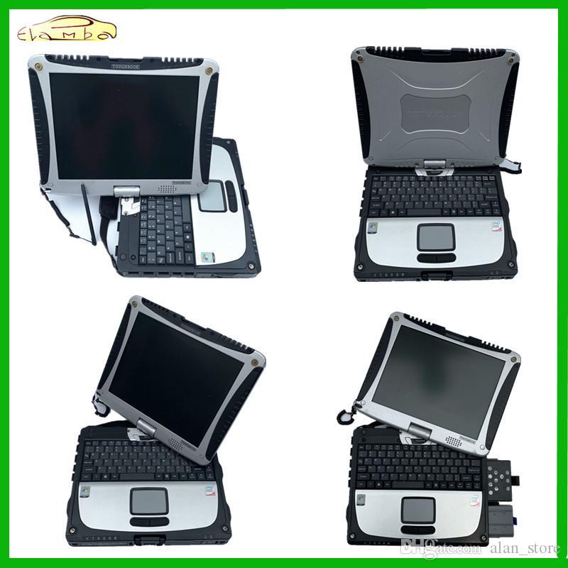 Toughbook CF19 CF19 CF19 MB Supporto strumento c5 alldata 2019 migliore qualità Toughbook CF19 portatile stella c3 c4 diagnostico