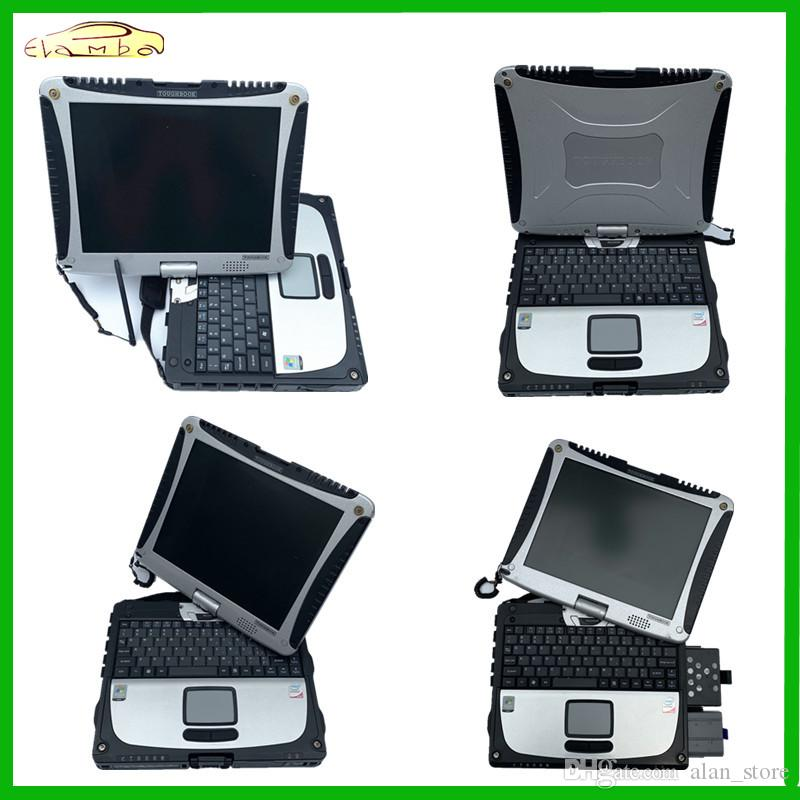 ferramenta 2019 Melhor qualidade laptop Toughbook CF19 Toughbook CF19 CF19 CF19 mb Suporte estrela c3 c4 c5 alldata diagnóstico