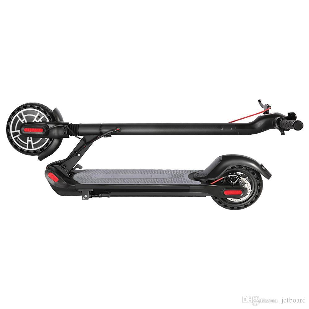 [Bundle Tronsmart Spunky golpe TWS Auriculares] KUGOO ES2 plegable Scooter eléctrico 350W Motor pantalla LED de 8,5 pulgadas Max 25KMH Neumático - Negro