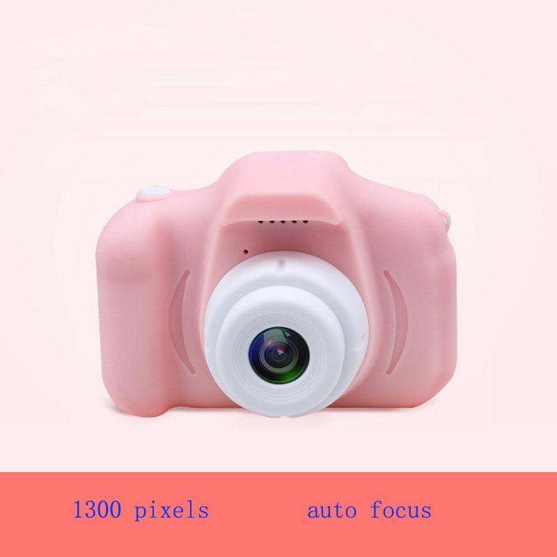 Toys & Hobbies 1300 pixels mini cameras kids toys auto focus 32G card and card reader mini digital camera for kids