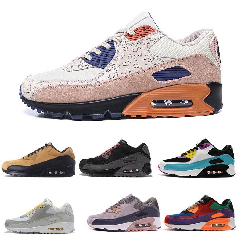 Almofada de alta qualidade tênis para Homens Mulheres Sport Shoes Formadores Sneakers Tamanho 36-46