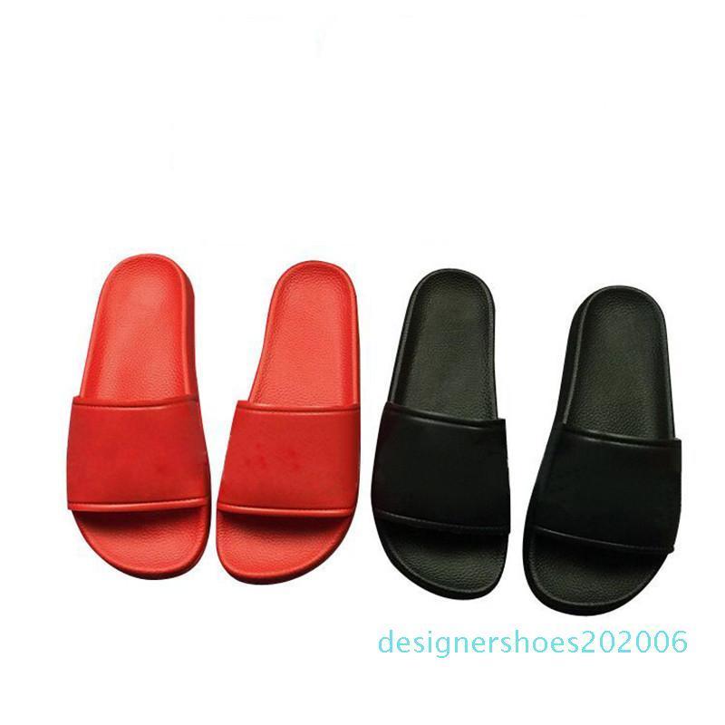 Famous Brand Slipper Luxuxentwerfer Slippers Männer Frauen-Sommer-Gummi-Sandalen Strand Slide Fashion Outdoor Hausschuhe Innenschuh AD06
