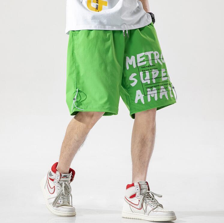 Горячие продажи летние шорты для мужчин дизайнер короткие брюки шнурок мода спорт бегунов роскошные брюки мужчины короткие брюки одежда 4 цвета