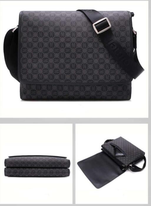 De haute qualité nouveau design hommes de style classique sacs messenger sac à bandoulière mode sac ordinateur portable épaule école bookbag 41213