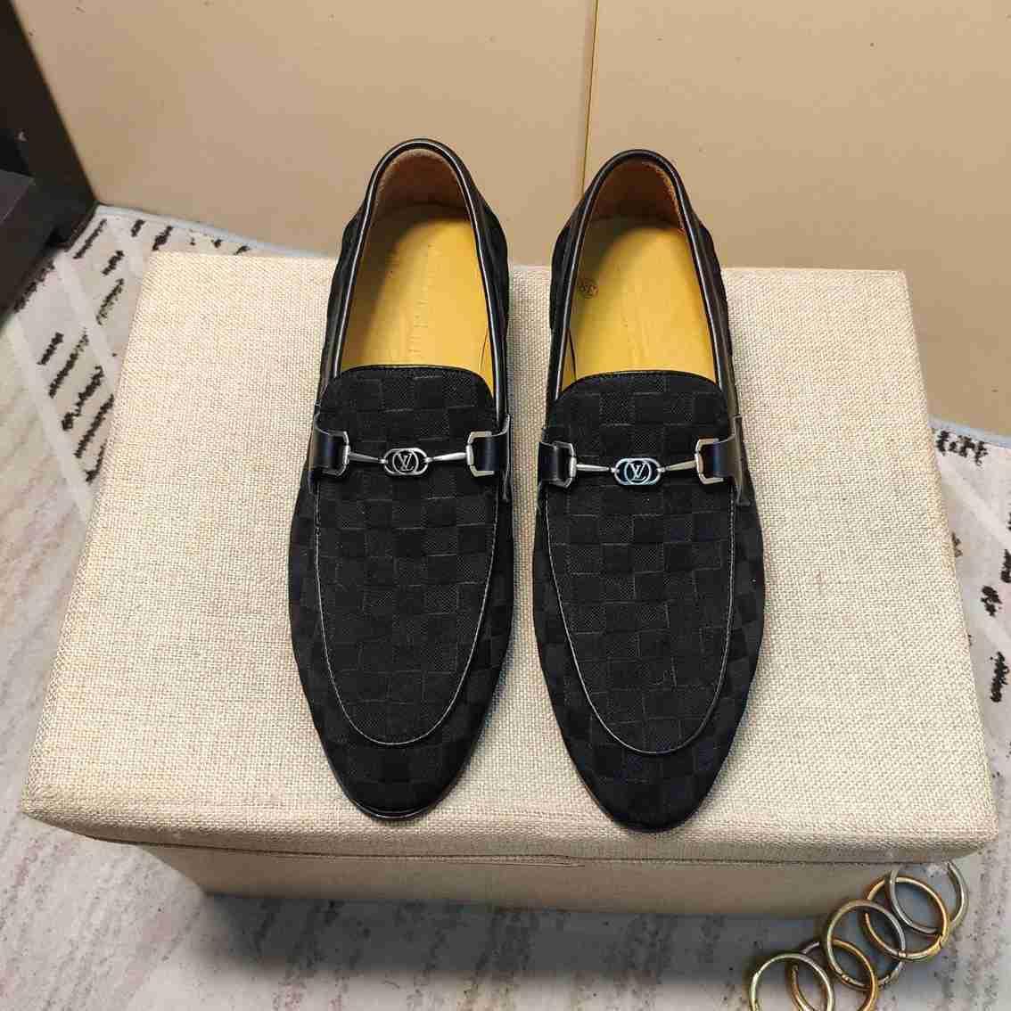 2020 calidad casuales zapatos de la boda del novio de la moda Negro Gamuza de los nuevos hombres