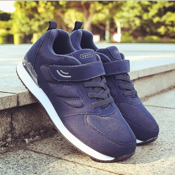Von mittlerem Alter Antirutsch Bequeme Outdoor Casual Sneaker Ältere Schuhe