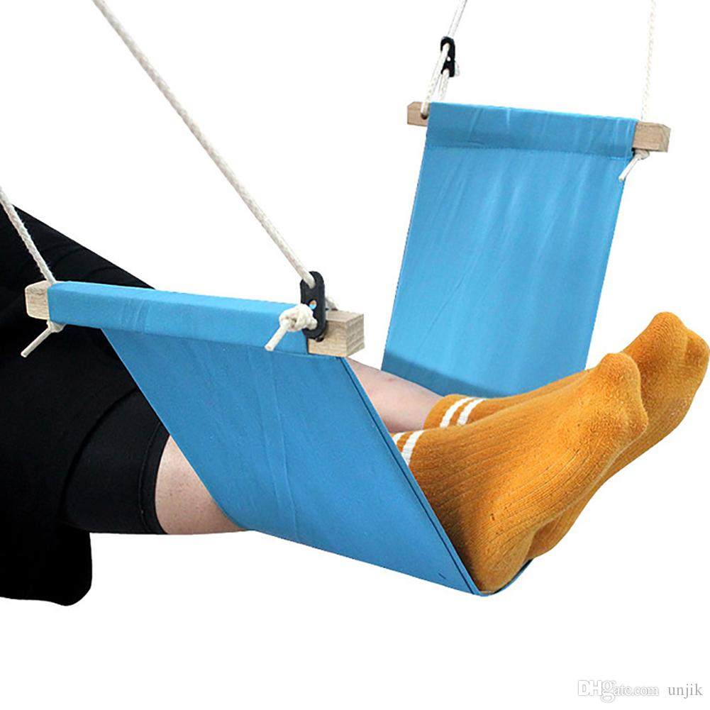 Yeni Masa Ayakları Hamak Ayak Sandalye Bakım Aracı Ayak Hamak Açık Istirahat Karyolası Taşınabilir Ofis Ayak Hamak Mini Ayak Istirahat