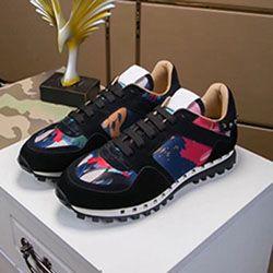 novos multicolor camuflagem sapatos amantes rebite desporto primavera outono sapatos casuais lacing moda confortáveis sapatos esportivos respirável am255