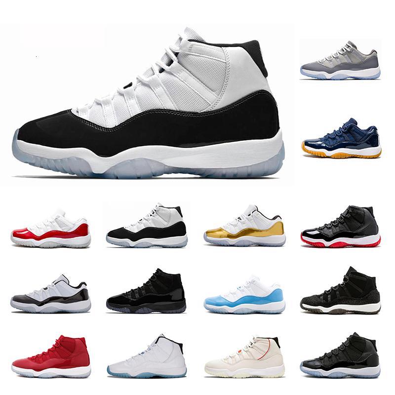 11 лучшего качество 11s Баскетбол обуви дышащих кроссовки Prm Наследница C и платье Concord High 45 спортивных кроссовки