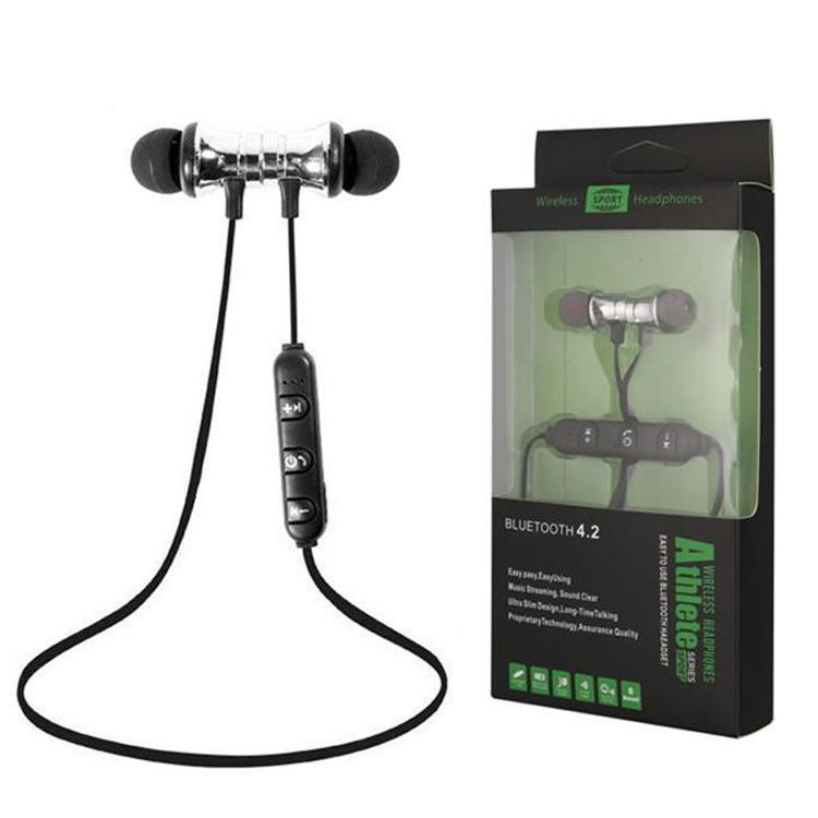XT11 Магнит Спортивные наушники BT4.2 Беспроводные стереонаушники с микрофоном Наушники Бас-гарнитура для iPhone Смартфоны Samsung LG с коробкой