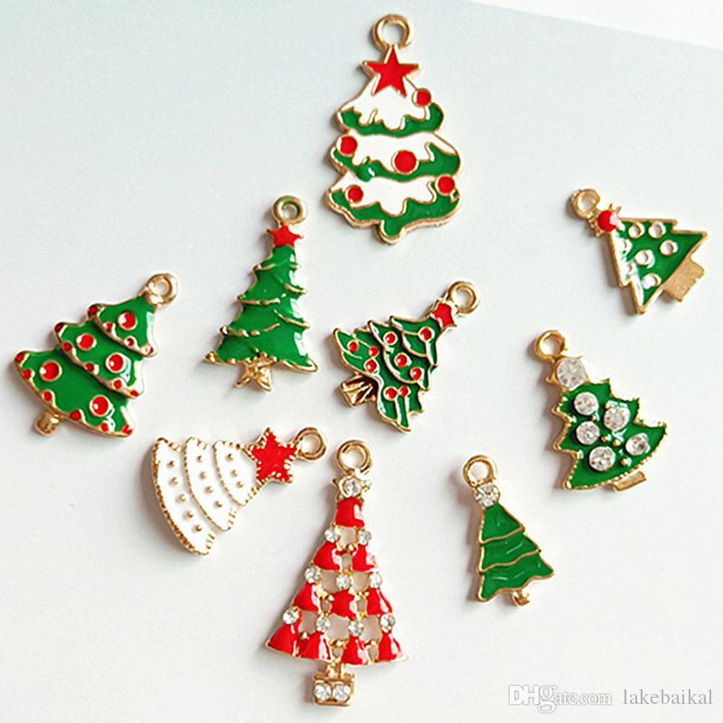 Multistyle Noel Ağacı Diy Takı Aksesuarları Diy Saç Aksesuarları Takı Yapımı Charms Bileşenleri Yüksek Kalite Epacket Nakliye