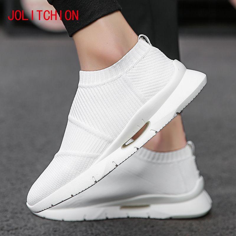 2018 Krasovki Uomo Estate Uomo Calzature casual Calze Sneakers traspiranti Uomo adulto Calzino Slip on Scarpe Chaussure Homme Mocassino