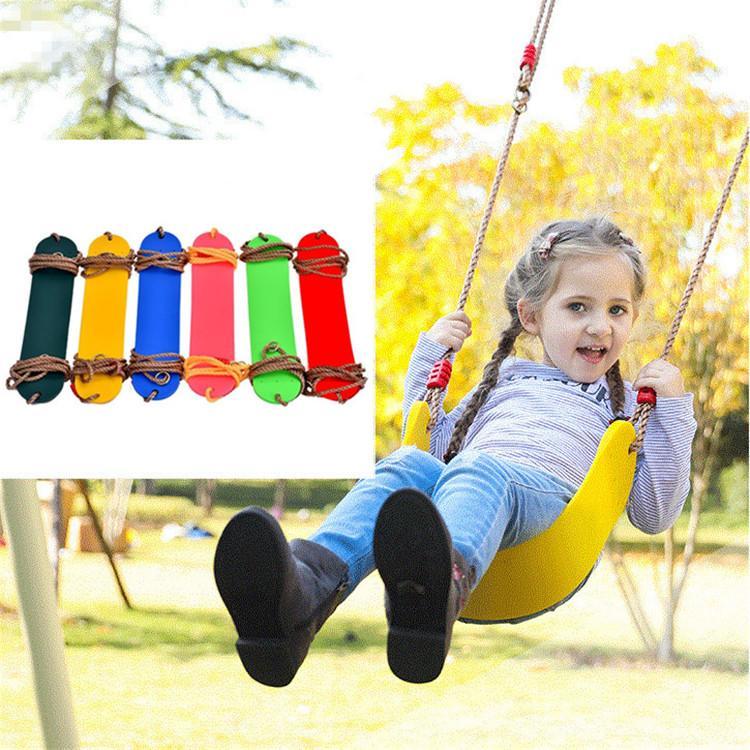 سوينغ داخلية وخارجية لياقة الأطفال اللون أطفال EVA مجلس الناعمة U على شكل T9I00435 الأرجوحة المعلقة في الهواء الطلق حديقة سوينغ