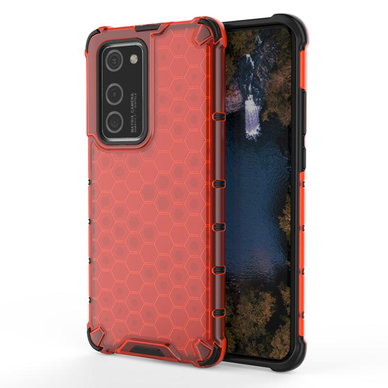 Slim Fit Carbon Fiber Style Case for Huawei P40 Pro Shockproof Matte Soft TPU Silicone Case Cover Skin
