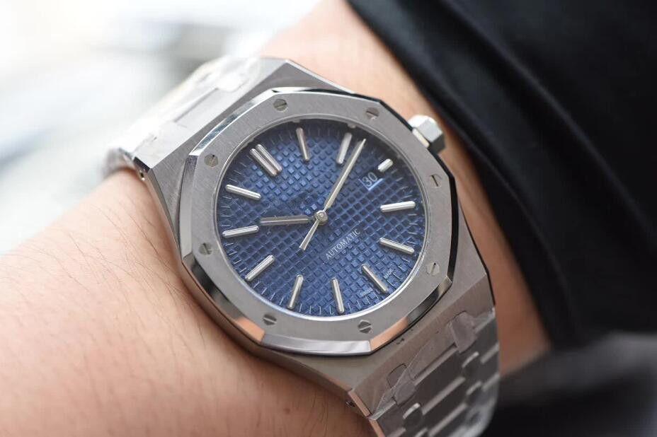 hombre de lujo relojes mecánicos automáticos de 41 mm clásico estilo de los relojes de pulsera de calidad completa de acero inoxidable correa superior zafiro súper luminosa 03