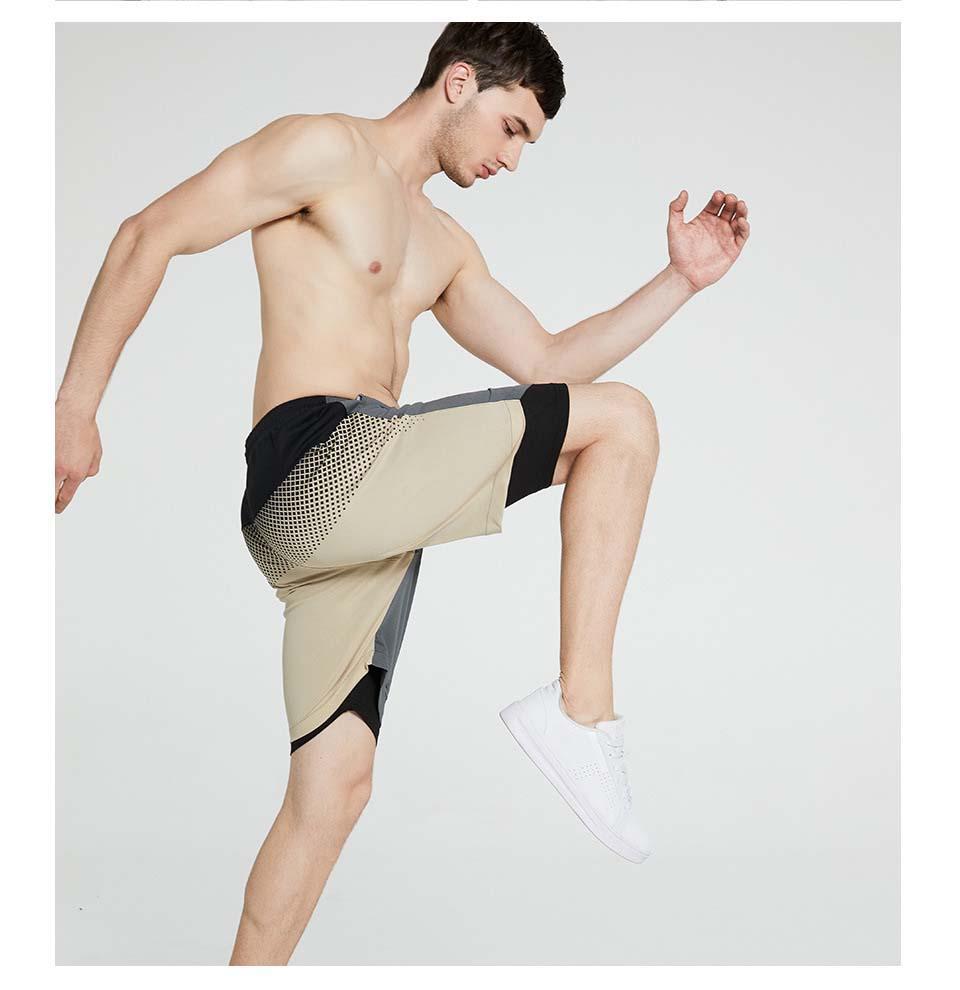 Pantalones cortos para hombre del diseñador de deporte marca de moda de los hombres de los cortocircuitos ocasionales pantalones de la playa Euro tamaño de los pantalones 2020 nuevo estilo de verano pantalones cómodos