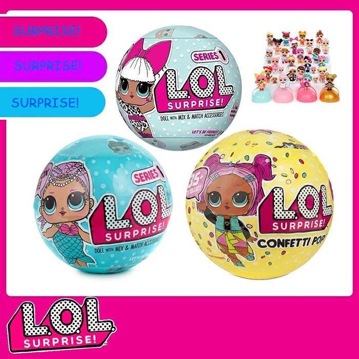 2020 Omg L O L Surprise Dolls Lol Dolls Egg Doll Ball Blind Box