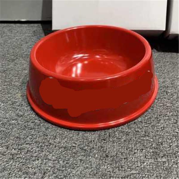 Pet melamina bacia Anti-queda de moda letras criativa Dogs bacia melamina Dog Pot Pet Beber bacia frete grátis
