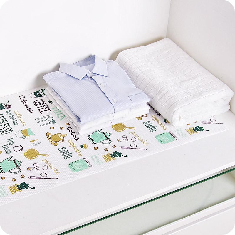 Dolap çekmece ped dolap ped toz geçirmez suya dayanıklı kağıt yağ geçirmez, su geçirmez ped, kağıt mutfak Raf Gömlek WJ030255