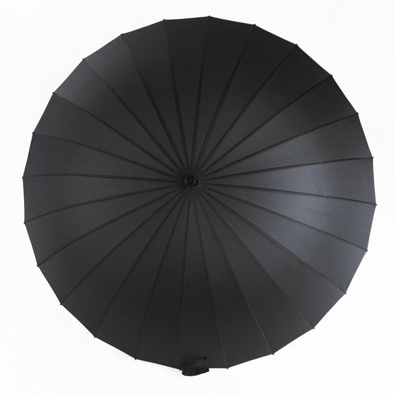 FGHGF 24K Colorful Large Umbrella Golf Rain Windproof Male Walking Stick Men Women Long-handle Non-automatic Gentleman Lady