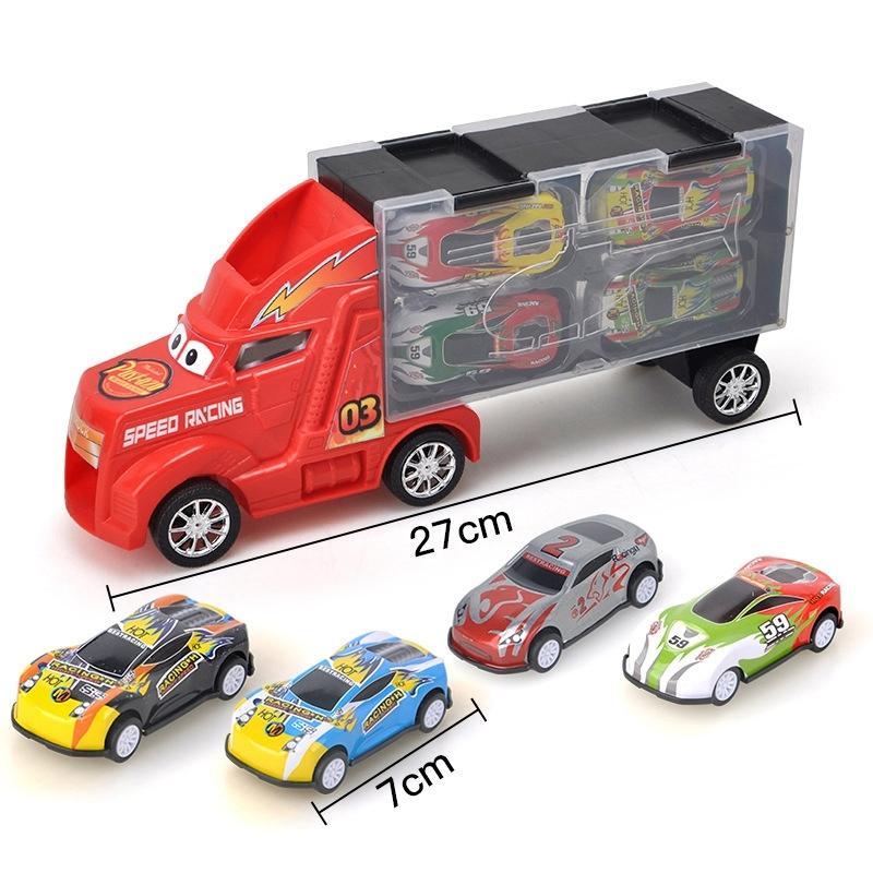 Pull Voltar Car Toy Car veículo Veículo puxar para trás mini carros Kids Brinquedos para Crianças Diecasts Veículos de brinquedo presente de aniversário 01:24 Y200109