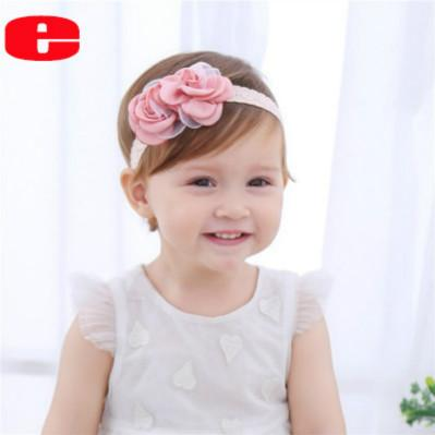 Toptan için Flowers olan çocuklar Tasarımcı Headbands Kız Marka Saç Aksesuarları ve Şerit Bebek Moda Sweet Stil Parti Aksesuarları