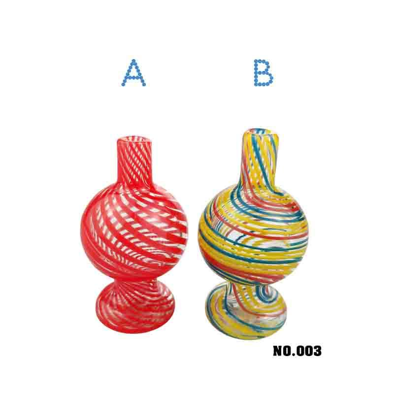 UNILANDTUBING US Colorful Glass Made Bubble Carb Caps Domeless For Quartz Bangers Glass Water Pipes Dab Rigs Water Bongs cc