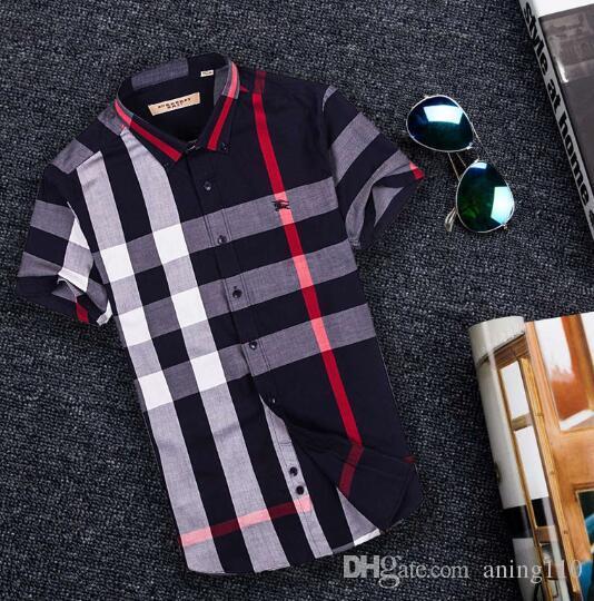 Newest Fashion Autumn Mens Shirt Candy Slim Fit Luxury Casual Stylish Dress Shirts Colours Plus Sizes M-3XL =116