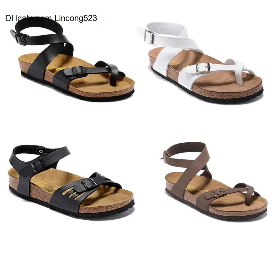 bokon 2020 yara Mayari Arizona 2019 Venta caliente verano Hombres Mujeres sandalias Planas Zapatillas de sughero unisex zapatos casuales
