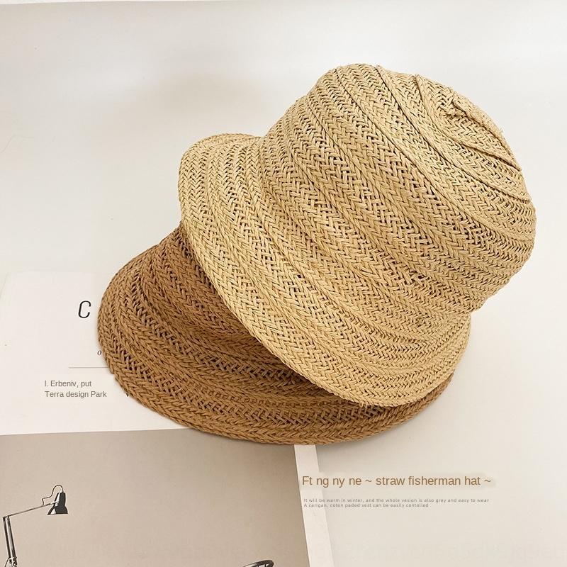 Çocuk güneş bebeğin güneş 2020 kızın yabancı tarzı balıkçı plaj kova kova şapka şapka